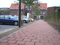 waterdoorlatende bestrating