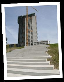 Betonnen trappen inzet 3