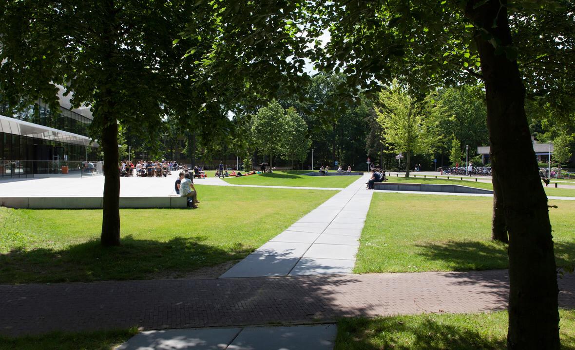 prefab betonelementen Radboud Universiteit Nijmegen