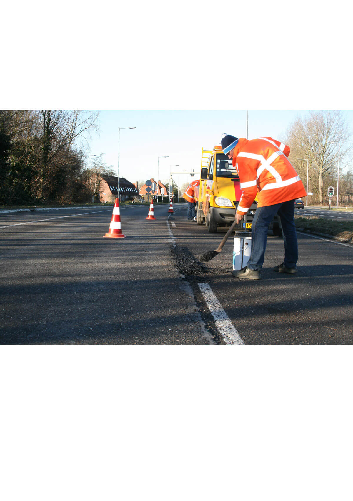 reparatie asfalt