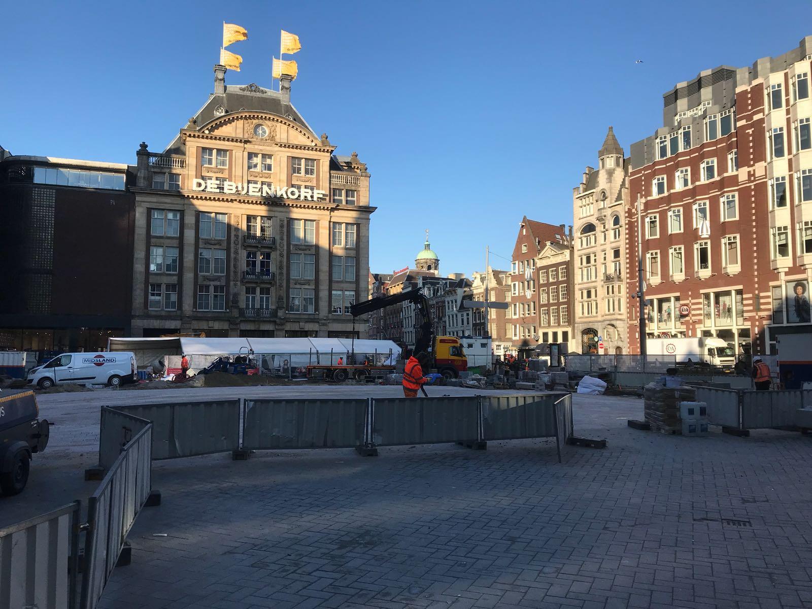 Amsterdam voegwerk beurs